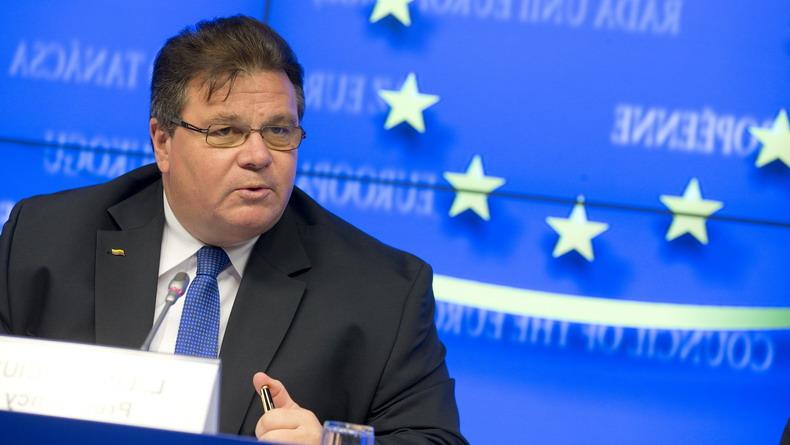 Министр иностранных дел Литвы Линас Линкявичус