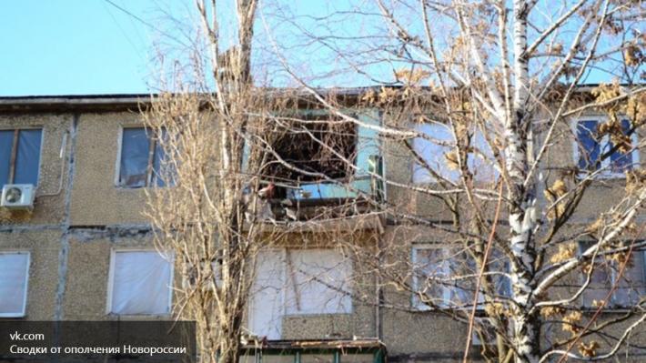 Украинская артиллерия обстреляла Донецк: серьезно повреждена многоэтажка