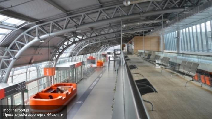 Аэропорт «Модлин» под Варшавой эвакуировали из-за звонка