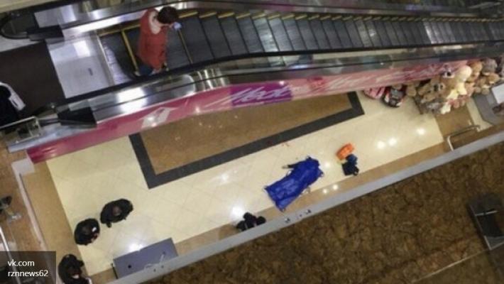 Молодой человек погиб, упав с 3 этажа в рязанском ТРЦ