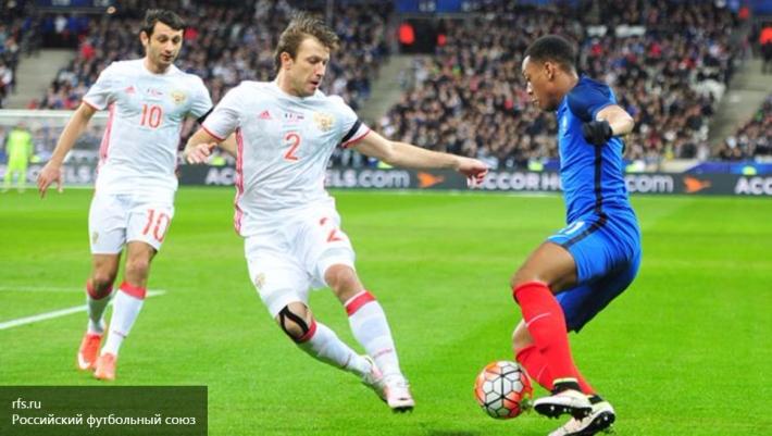 Стали известны итоги футбольного матча между сборными России и Франции
