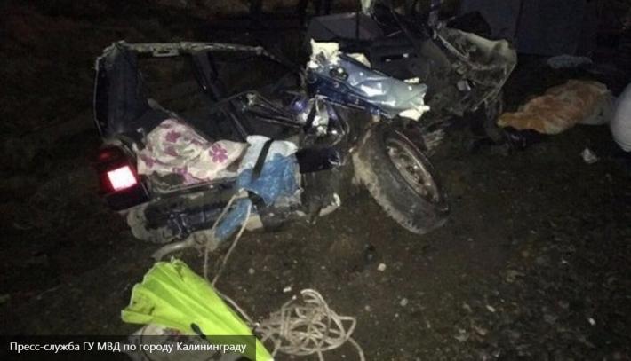 Трагедия под Калининградом: поезд раздавил легковушку с людьми