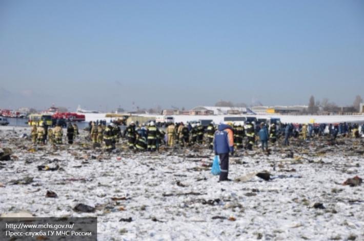 Появились новые подробности в расследовании крушения Boeing-737 в Ростове-на-Дону