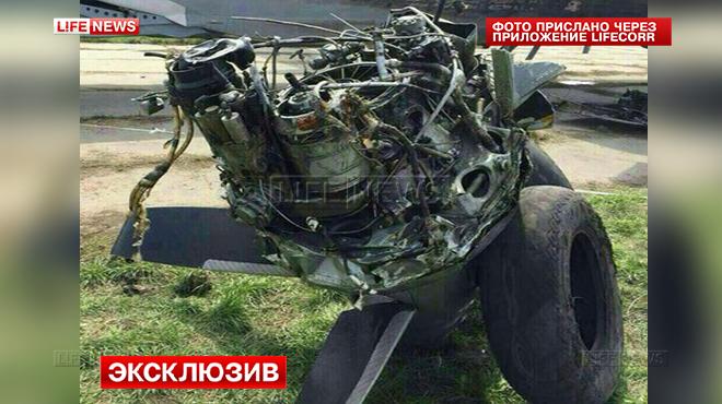 В Ростове при попытке подняться в воздух сгорел военный транспортник Ан-26