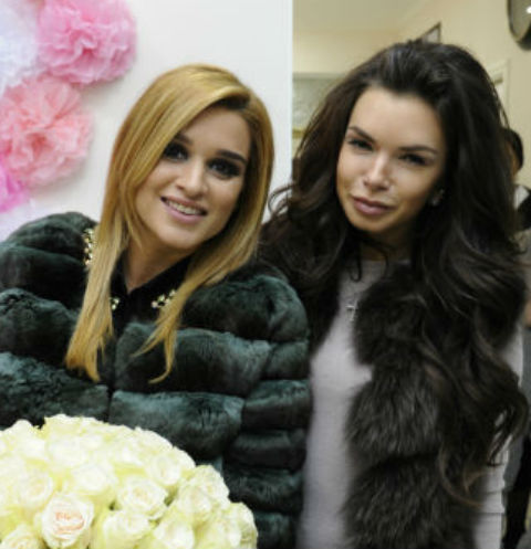 Ксения Бородина и Катя Жужа