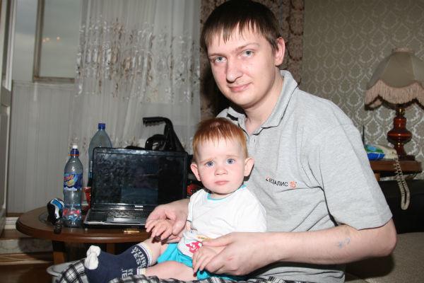 Племянник Аллы Борисовны с сыном