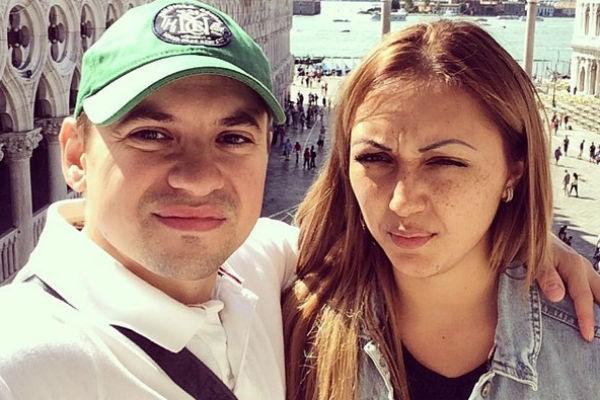 Андрей Гайдулян с бывшей возлюбленной Дианой