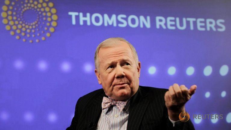 Джим Роджерс, президент компании «Rogers Holdings», выступает во время инвестиционного саммита в Нью-Йорке, 7 сентября 2010 года