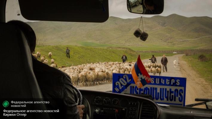 Армения поддерживает размещение миротворцев в Нагорном Карабахе
