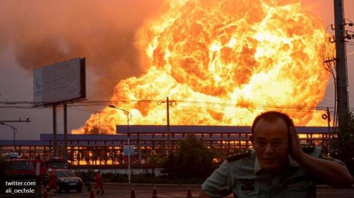 Мощный взрыв прогремел на комплексе по переработке газа в Мексике