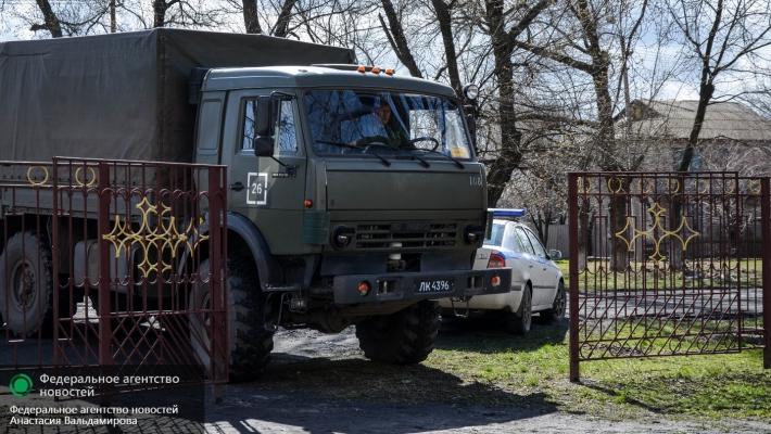 Народная милиция ЛНР привезла детям гуманитарную помощь