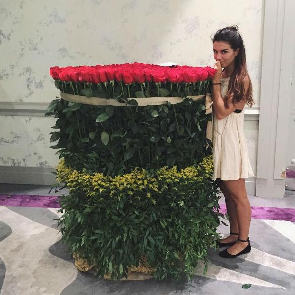 Букет Ани Седоковой мог бы взять олимпийское «золото»