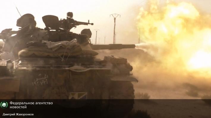 Сирийская армия атакует боевиков ИГ на их позициях в Алеппо