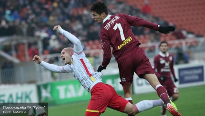 «Рубин» уступил «Анжи» в матче Премьер-лиги