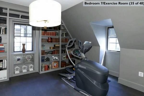 тренажер в спальне