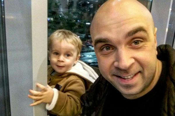 Глеб Жемчугов очень скучает по сыну
