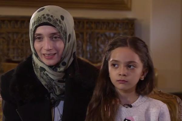 Девочка из Алеппо написала письмо Трампу: Пожалуйста, спасите детей и народ Сирии