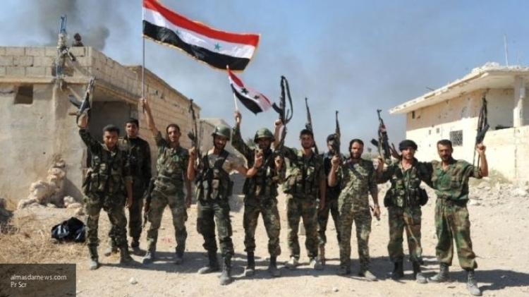 Подразделения САА обстреляли позиции боевиков на окраине города Даръа