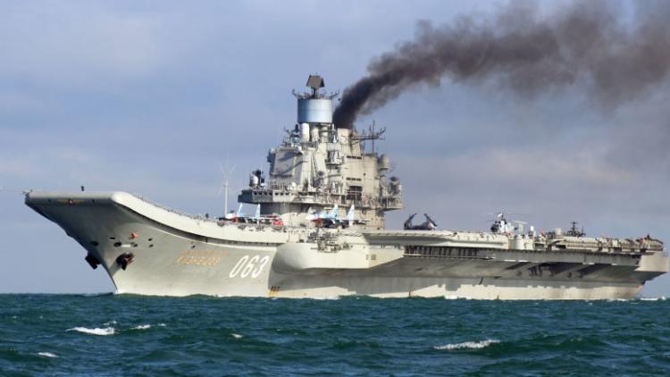 Расходы Британии на слежку за «Адмиралом Кузнецовым» увеличатся вдвое