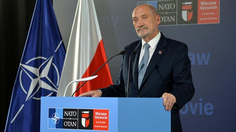 Кортеж министра обороны Польши попал в ДТП