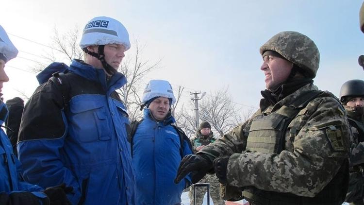 Донбасс: ОБСЕ зафиксировала тяжелую технику ВСУ за пределами мест хранения