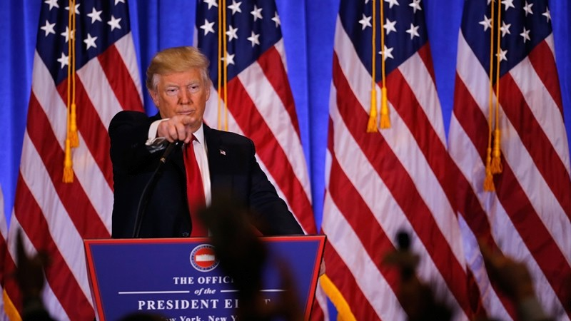 Белый дом рассказал, что Трамп думает снятии санкций с России
