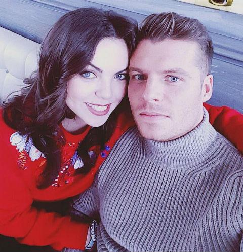 Светлана Абрамова с женихом