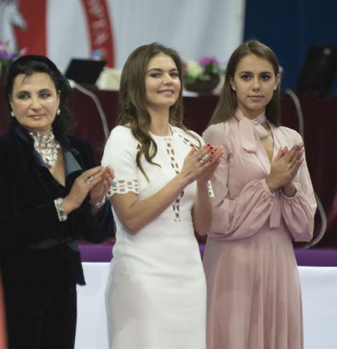Ирина Виннер, Алина Кабаева, Маргарита Мамун