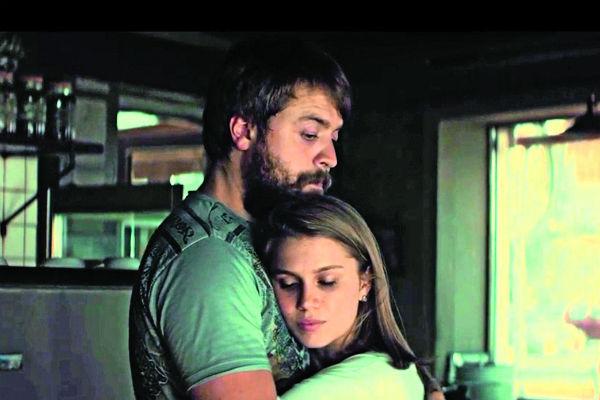 Кадр из фильма «С пяти до семи», в котором Александр Ильин и Дарья Мельникова сыграли влюбленных