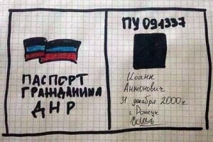паспорт-днр