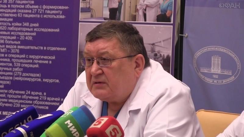 Главврач НИИ скорой помощи им. Джанелидзе: Мы готовы к ответственности. ФАН-ТВ