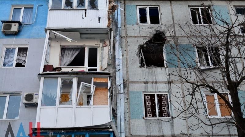 Очевидцы сообщили о мощном взрыве в центре Донецка