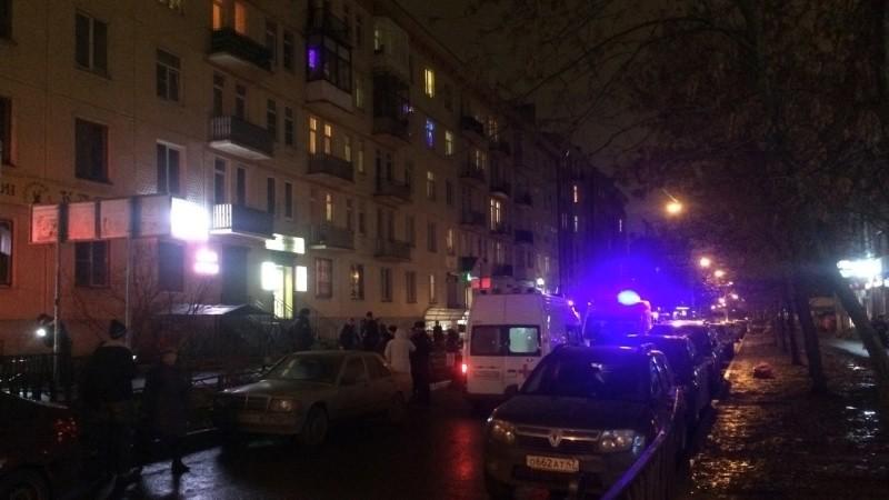Москвичи приняли спецоперацию полиции за драку со стрельбой