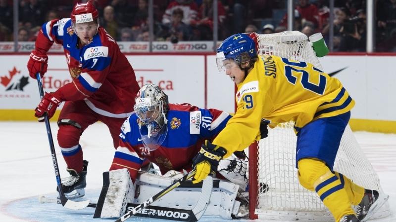Хоккеист Капризов сделал блестящий хет-трик в матче Евротура против Швеции