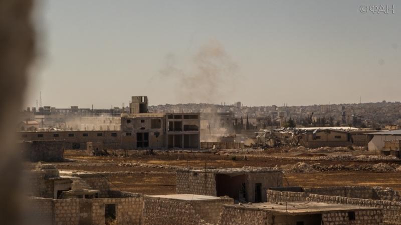 Военные действия на территории Сирии
