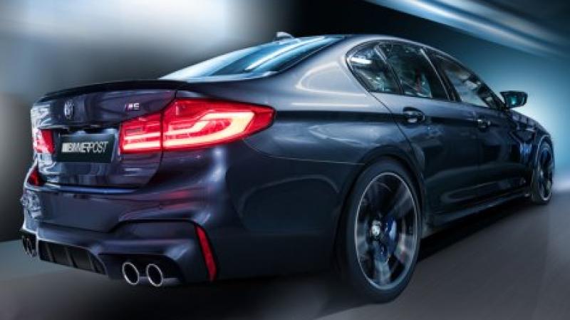 Визуализация нового BMW M5 появилась в Сети