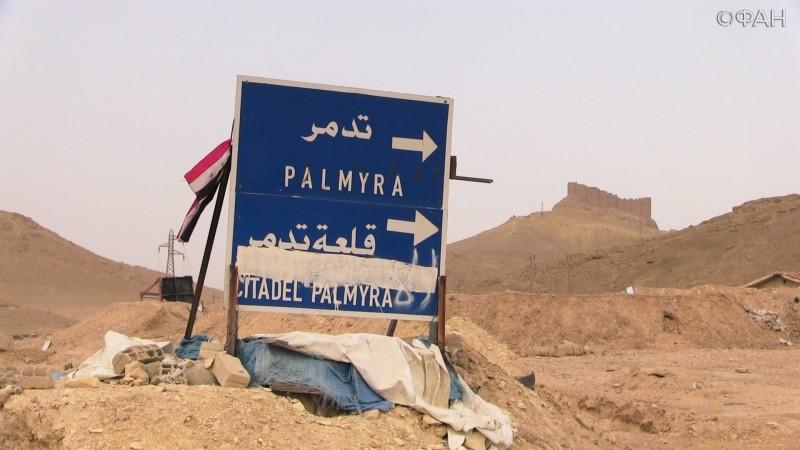 Позиции ИГ к западу от Пальмиры подверглись ударам ВВС САР и ВКС РФ