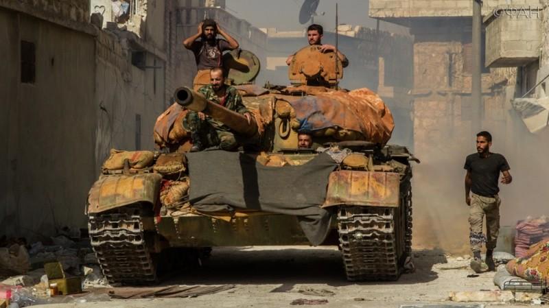 Войска САА нанесли мощный удар по боевикам в окрестностях города Даръа
