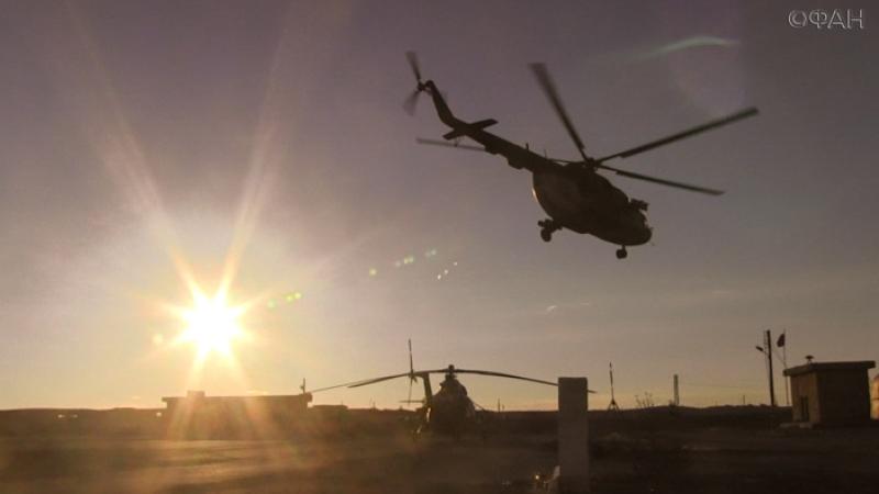 Вертолет ВВС Сирии