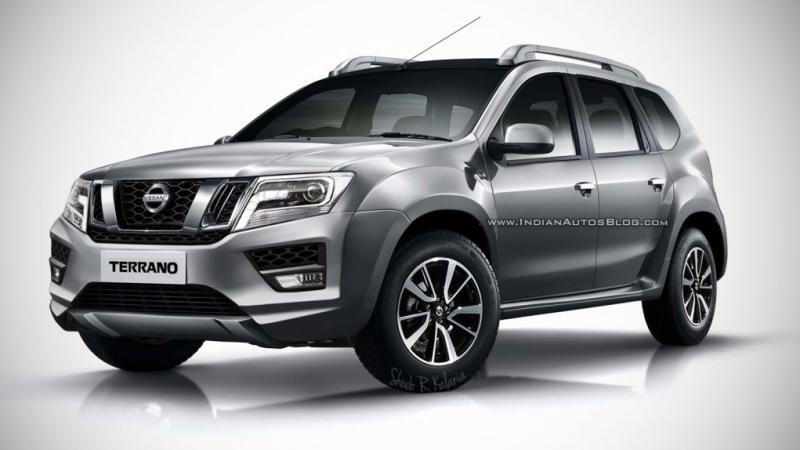 Первые изображения обновленного Nissan Terrano появились в Сети