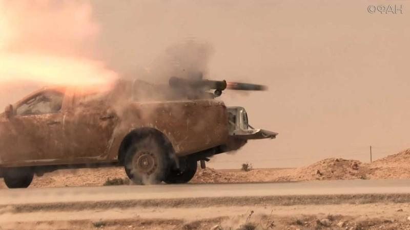 Военные действия в провинции Ракка