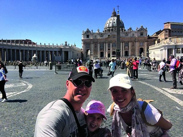Дочь Дениса осталась в восторге от поездки в Европу