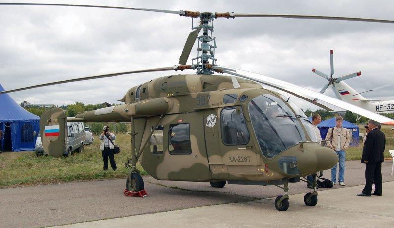 Глава «Ростеха» доложил Путину о поставке 200 вертолетов Ка-226 в Индию