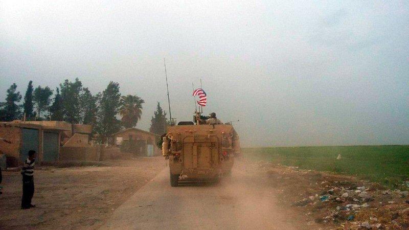 Броневик ВС США - Аль-Хасака