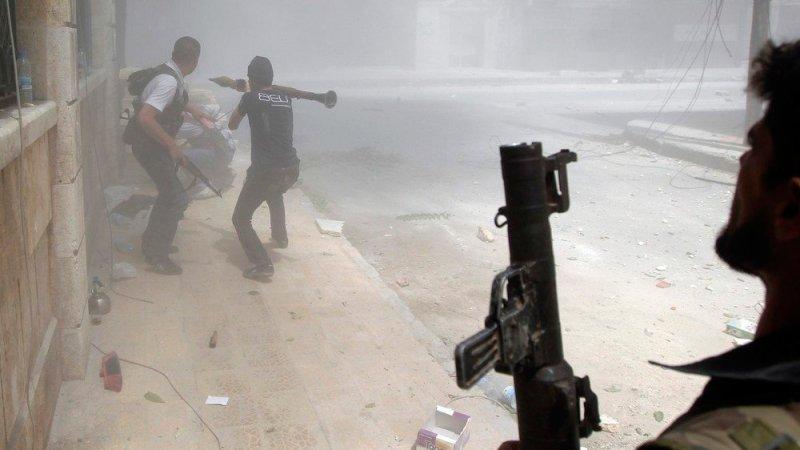 Военные действий в городе Даръа