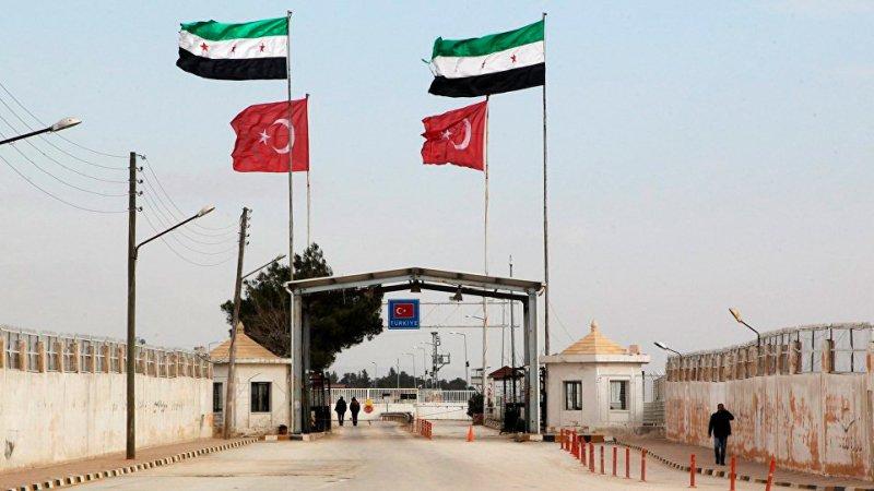 Граница между Турцией и Сирией