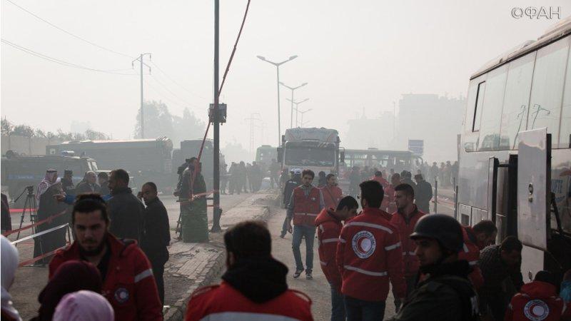 Более двух тысяч боевиков покинули район Хомса Аль-Ваэр