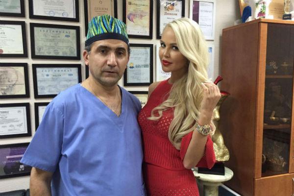 Мария Погребняк и Гайк Бабаян