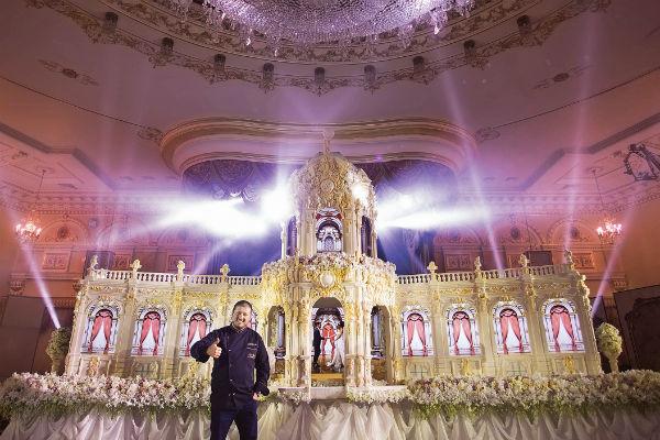 «Дворец Цвингер» поразил воображение гостей свадьбы