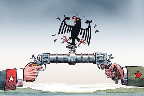 Германия настаивает на строительстве Северного потока-2